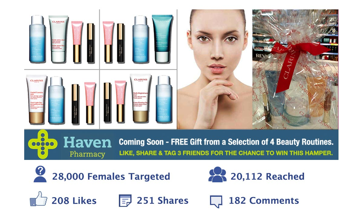 Haven Pharmacy - Clarins Promotion